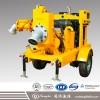 9.5米高吸程高效柴油机自吸泵 防汛抢险应急移动泵车