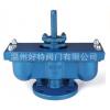 专业生产供应P2(QB2)-10型双口排气阀 铸钢排气阀