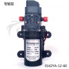 洗铁龙微型隔膜泵 电动高压洗车水泵 12V60W直流