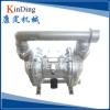 不锈钢气动隔膜泵 卧式耐腐蚀隔膜泵